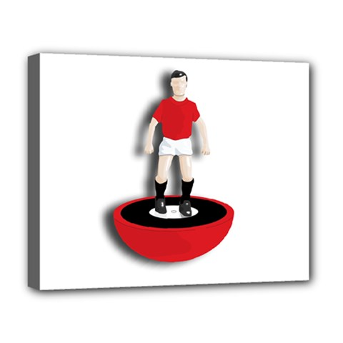 Subbuteo 3 Deluxe Canvas 20  x 16  (Stretched) by OurInspiration