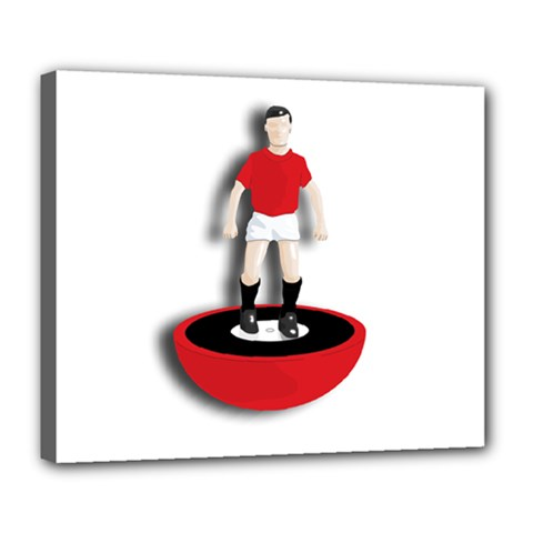Subbuteo 3 Deluxe Canvas 24  x 20  (Stretched) by OurInspiration