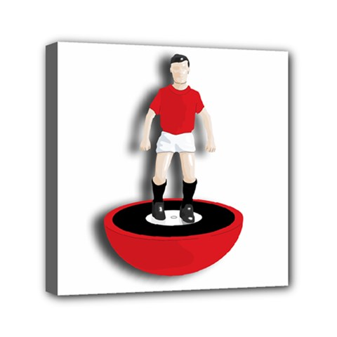 Subbuteo 3 Mini Canvas 6  x 6  (Stretched) by OurInspiration