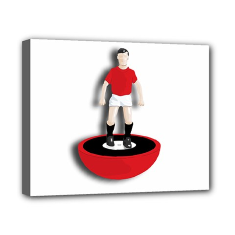Subbuteo 3 Canvas 10  x 8  (Stretched) by OurInspiration