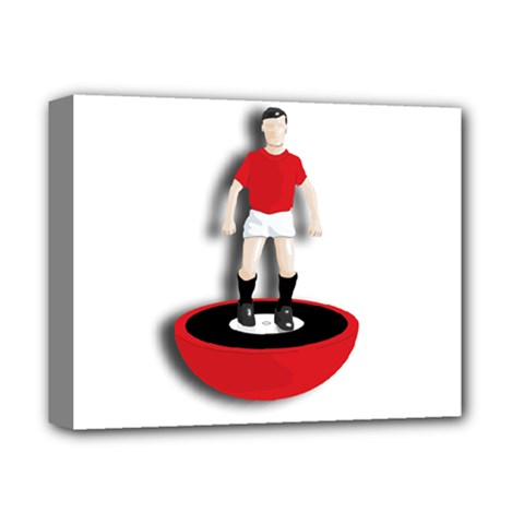 Subbuteo 3 Deluxe Canvas 14  x 11  (Stretched) by OurInspiration
