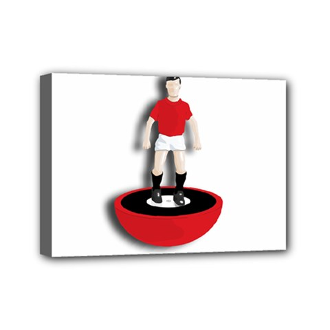 Subbuteo 3 Mini Canvas 7  x 5  (Stretched) by OurInspiration