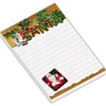 Santa Large Memo Pad - Large Memo Pads