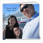 Alaska Cruise 2012 20pg - 8x8 Photo Book (20 pages)