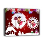 Christmas Canvas - Deluxe Canvas 16  x 12  (Stretched)