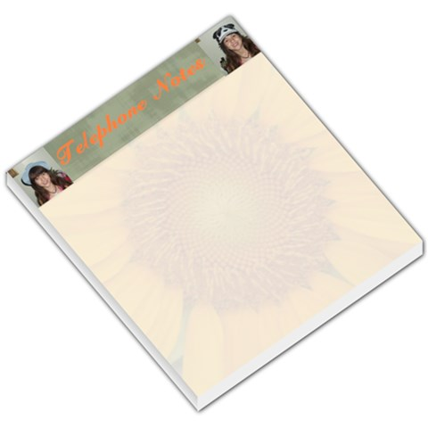 Sunflower Telephone Notes Small Memo Pad By Kim Blair   Small Memo Pads   Qp7dxg9o1ak7   Www Artscow Com