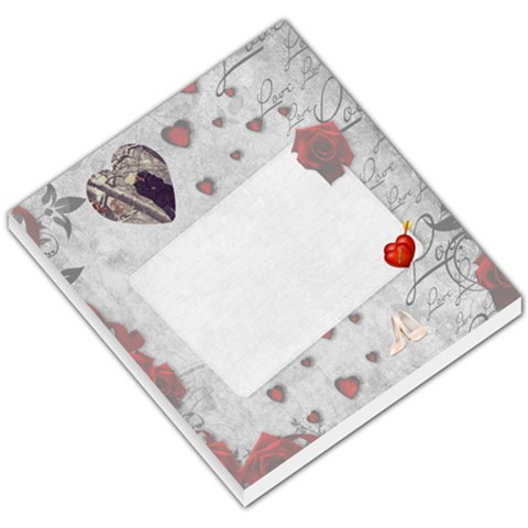 Love Notes By Joanne5   Small Memo Pads   Ipik2buw0ob4   Www Artscow Com