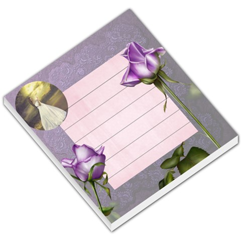 Purple Notes By Joanne5   Small Memo Pads   S4l2o9joec8i   Www Artscow Com
