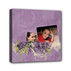 Lavender Dream - Mini Canvas 6x6(stretched)  - Mini Canvas 6  x 6  (Stretched)