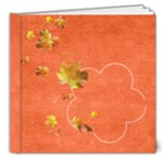 Fall holidays 8x8 photo book - 8x8 Deluxe Photo Book (20 pages)