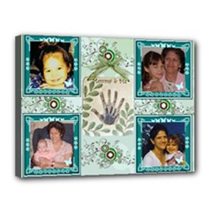 Mommy and me 16 x 12 stretched canvas - Canvas 16  x 12  (Stretched)