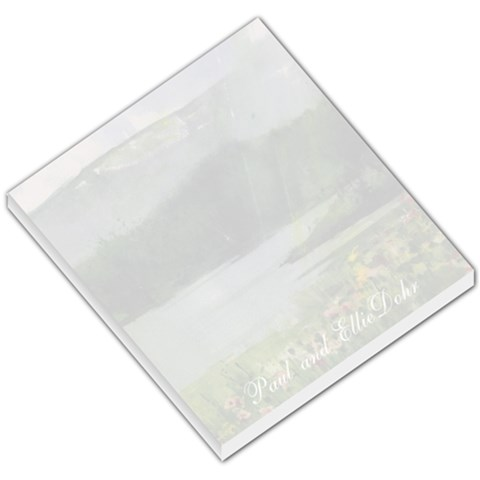 Lake Wildflowers Small Memo 1 By Liz Mcgowan   Small Memo Pads   Exnz9xyah6ln   Www Artscow Com