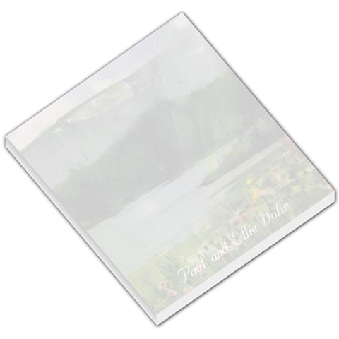 Lake Wildflowers Small Memo 2 By Liz Mcgowan   Small Memo Pads   T5zcxp4r8uc4   Www Artscow Com