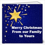 Merry Christmas from our family to yours - 12x12 Photo Book (20 pages)