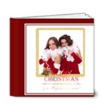 merry chrsitmas - 6x6 Deluxe Photo Book (20 pages)
