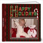 Happy Holidays 12x12 Photo Book (20 Pgs) - 12x12 Photo Book (20 pages)