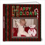 Happy Holidays 8x8 Photo Book (20 Pgs) - 8x8 Photo Book (20 pages)