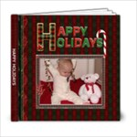 Happy Holidays 6x6 Photo Book (20 Pgs) - 6x6 Photo Book (20 pages)