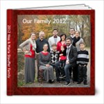 2012 Family Photo Book - 8x8 Photo Book (20 pages)
