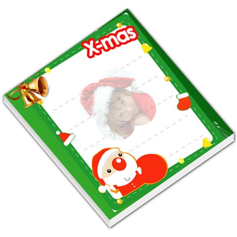 Christmas Small Memopad By Joanne5   Small Memo Pads   Yidnupxe8v7w   Www Artscow Com