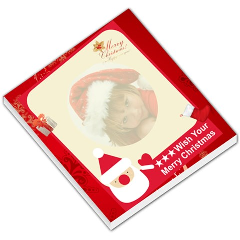 Christmas Small Memopad By Joanne5   Small Memo Pads   Opn34acdcaiq   Www Artscow Com