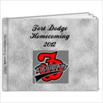 homecoming seniors 2012 - 7x5 Photo Book (20 pages)