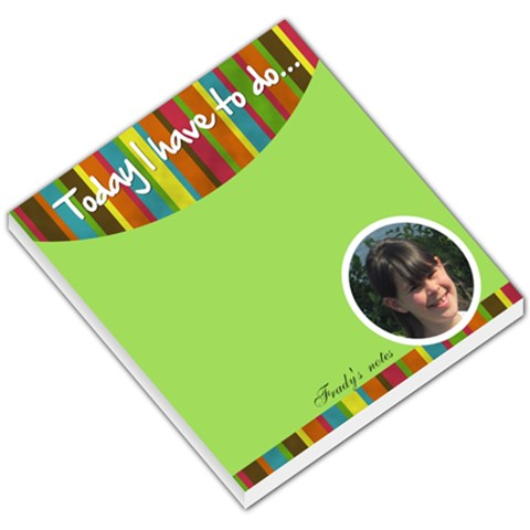 Frady By Gitty Fisher   Small Memo Pads   Pcyswt1nrhnd   Www Artscow Com