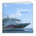 Bahamas Cruise Book - 8x8 Photo Book (20 pages)