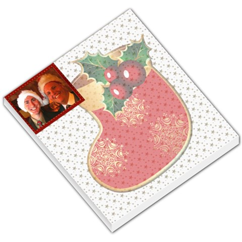 Merry Christmas Small Memo By Deborah   Small Memo Pads   Be2tk2ihmh4p   Www Artscow Com