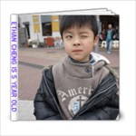 Ethan 5 year old - 6x6 Photo Book (20 pages)