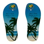 Wedding Flip flops 1 - Women s Flip Flops