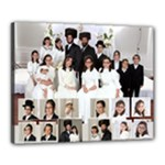 wedd fam for tatty - Canvas 20  x 16  (Stretched)