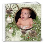 Christmas  Winter Wrens 8x8 20 pg - 8x8 Photo Book (20 pages)
