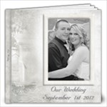 Dannielle and Andrews Wedding - 12x12 Photo Book (30 pages)