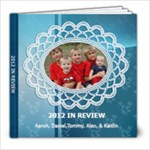 2012 in reveiw - 8x8 Photo Book (20 pages)