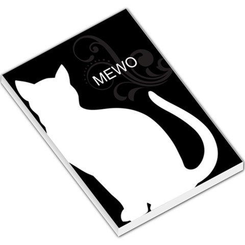 Cat By Divad Brown   Large Memo Pads   Vffj4zxjc87g   Www Artscow Com
