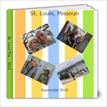 St Louis 2012 - 8x8 Photo Book (20 pages)
