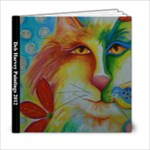 Deb Harvey Paintings 2012 - 6x6 Photo Book (20 pages)