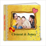 Clement n James - 6x6 Photo Book (20 pages)