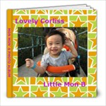 Lovely Corliss 1 - 8x8 Photo Book (20 pages)