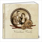 8x8 Album for Ann and Dick - 8x8 Photo Book (20 pages)