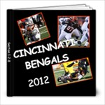2012 Bengals Season - 8x8 Photo Book (20 pages)