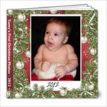 Camy s First Christmas Photos - 8x8 Photo Book (20 pages)