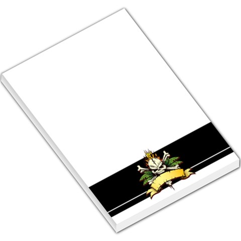 Rock By Divad Brown   Large Memo Pads   Yz64oi7eevgw   Www Artscow Com