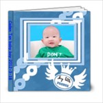 blue - 6x6 Photo Book (20 pages)