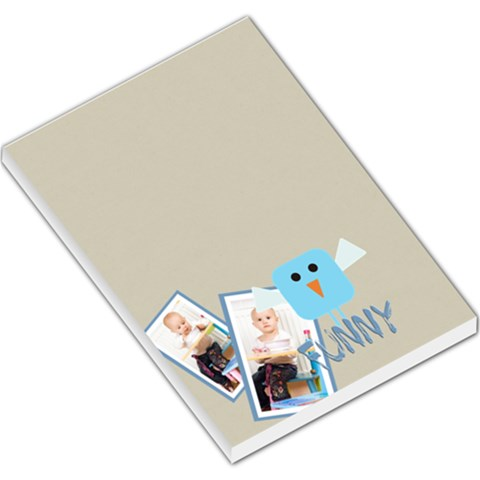 Kids By Jacob   Large Memo Pads   It2ro28tok1w   Www Artscow Com