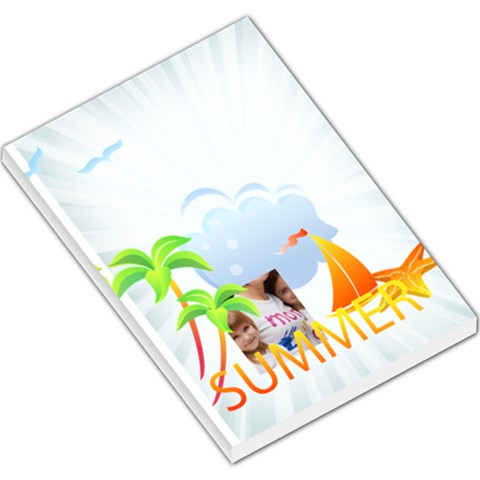 Summer By Jacob   Large Memo Pads   Lwbg0l7njry3   Www Artscow Com
