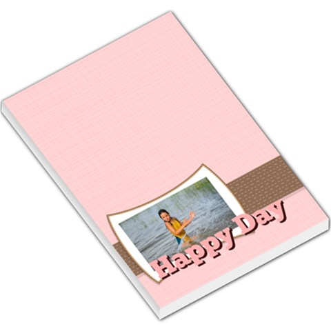 Happy Day By Man   Large Memo Pads   Boukqfrsaqmm   Www Artscow Com