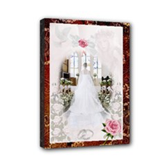 Wedding 7*5 - Mini Canvas 7  x 5  (Stretched)