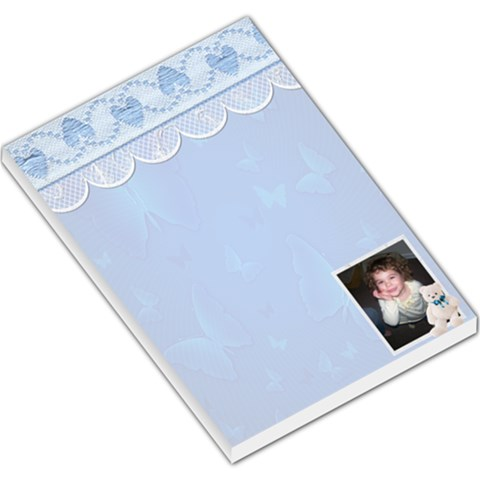 Butt]erfly And Hearts Laqrge Memo Pad By Kimmy   Large Memo Pads   Dbods30sbnvh   Www Artscow Com